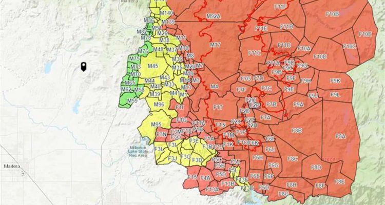 Florida Interactive Fire Map Creek Fire: Some Fresno & Madera County Residents Allowed to