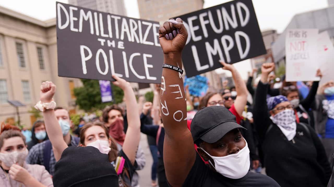 Photo of protestors