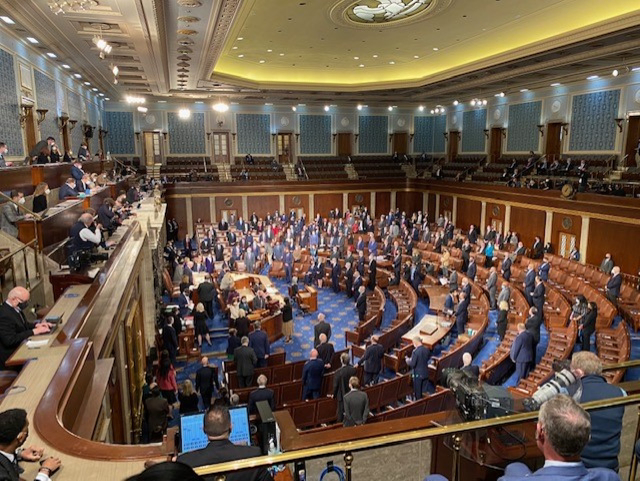 Jim Costa photo, Joint session before the insurrection