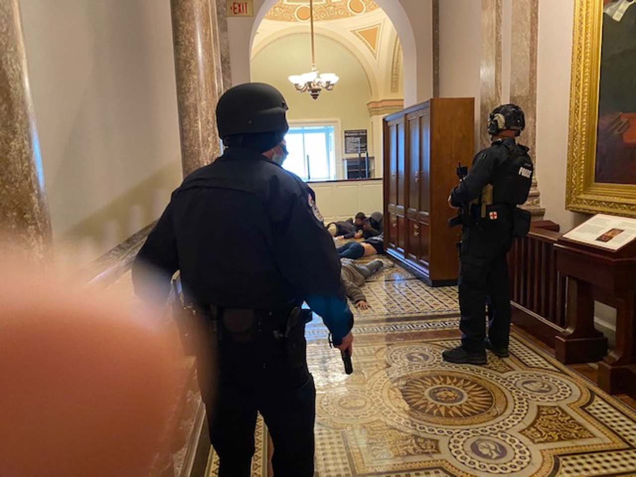 Jim Costa Photo, Arrests Inside Capitol