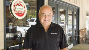 Portrait of Capriotti's Fresno location owner Javier Gomez